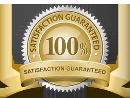 100% sastisfaction